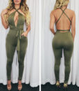 Convertible Wrap Jumpsuit with Pockets (2)