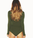 Lace Up Front Body Suit3