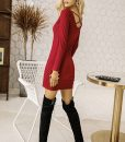 red-lace-up-mini-dress-2